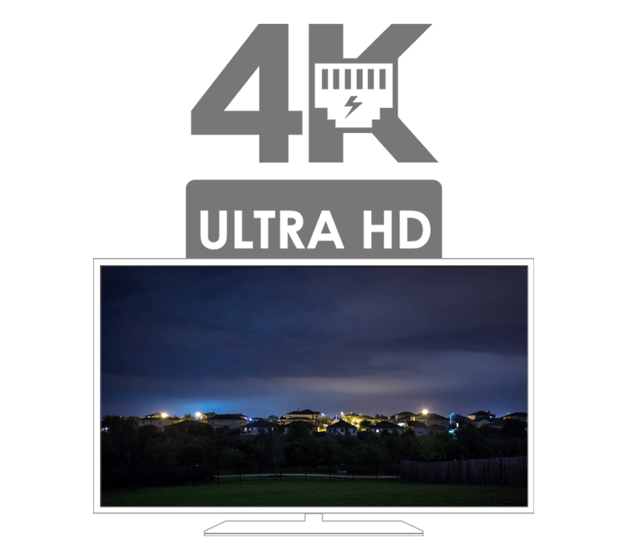 Nocturnal Security Cameras 4K resolution security monitoring