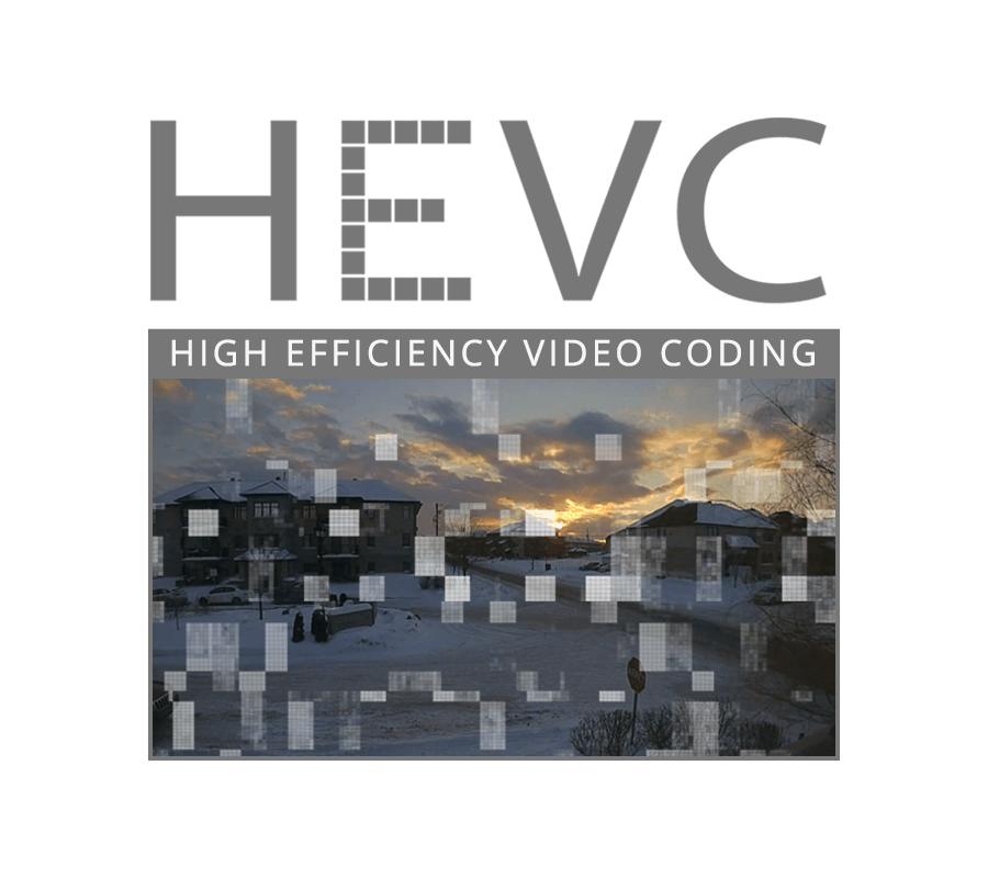 HEVC high efficiency video coding security cameras