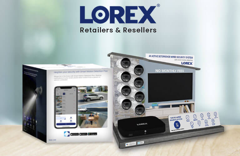 Authorized Lorex retailers and resellers