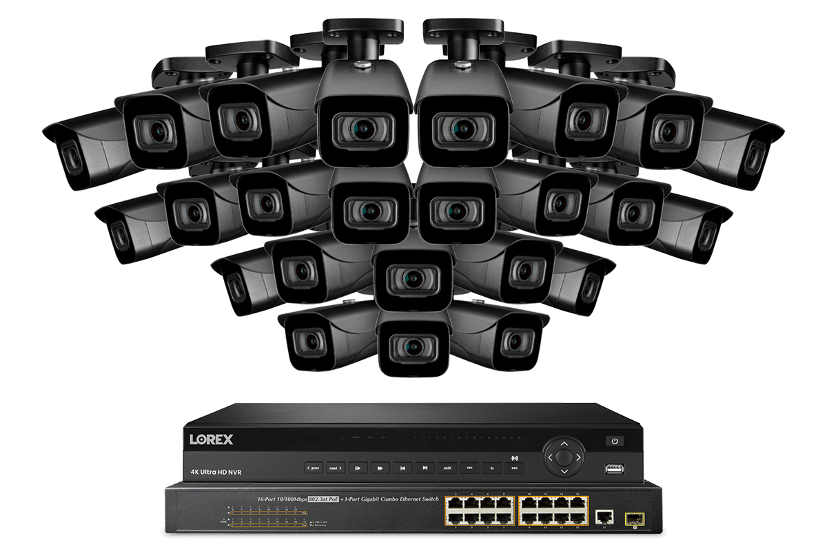32-channel security systems